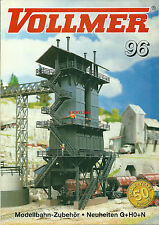Catalogue Vollmer 1996 HO N G Modellbahn train chemin de fer réseau ferroviaire