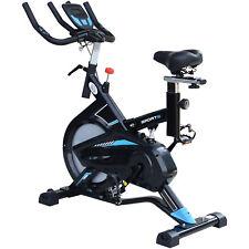 HOMCOM Cyclette Professionale Fitness Allenamento Sella Manubri Regolabile 117 ×