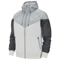 NIKE Men's Windrunner Windbreaker Hoodie Gray Full Zip Jacket AR2191-106 M-XXL
