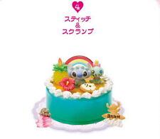 Re-Ment Disney Mini Happy Birthday Cake Stitch #4 Figure