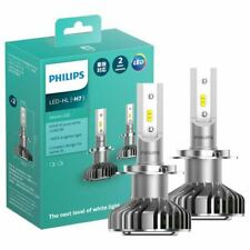 Philips Ultinon LED H7 Headlight 12V  6200K +160% light bulb White ( a pair )