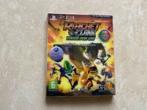 Ratchet & Clank: All 4 One Special Edition Sony (PS3) CIB English Português