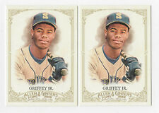 Ken Griffey Jr  2012 Topps Allen & Ginter's 2 CARD LOT