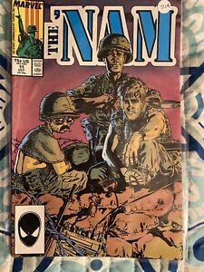 The 'NAM Vol 1 #11 (Marvel, 1987) VF/Vf- Spider Man Spidey Head Upc