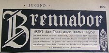 BRENNABOR - das Ideal aller Radler Brandenburg a. Havel Reklame 1904