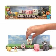 New Minecraft Series 2 Overworld Core Animal Mob 6 Figure Pack Action Official