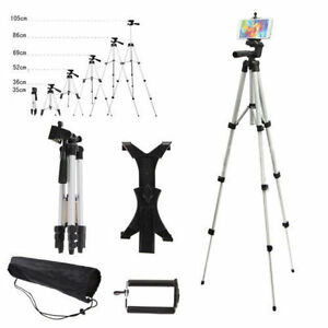 360° 1/4 Aluminum Professional Camera Tripod Stand Holder For iPhone 11 Samsung