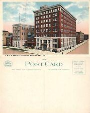 ERIE PA Y.M.C.A. & BELL TELEPHONE BUILDING ANTIQUE POSTCARD