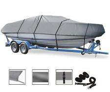 "Semi-Custom Boat Cover for Pro-Style Bass / Walleye Boats up to 17'6""L,92"" Width"