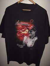 Dale Earnhardt Tee - Vintage 2003 Tribute Concert Race Car Driver T Shirt XLarge