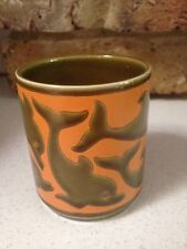 1960's/1970's Hornsea Pottery Dolphin Jar Designed by John Clappison