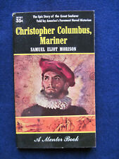 CHRISTOPHER COLUMBUS, MARINER - SIGNED by SAMUEL ELIOT MORISON to His Publisher