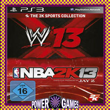 WWE 13 NBA 2k13 PS3 (Sony PlayStation 3) Brand New