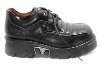 641 Chaussures pour Hommes Cuir Plateforme 90er Gothique Bottes en New Rock D 44