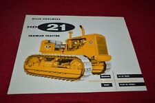 Allis Chalmers HD-21 Crawler Tractor Dealer's Brochure YABE14 ver2