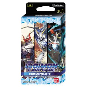 PREORDER Digimon Card Game Premium Pack Set 1 PP01