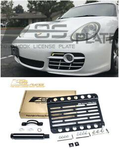 EOS Plate For 06-12 Porsche Cayman 987 Front Tow Hook License Mount Bracket