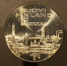 Finland 1971 10 Markkaa  Silver   A009