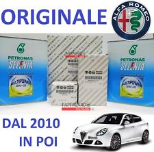 KIT TAGLIANDO 3 FILTRI ORIGINALI + OLIO SELENIA ALFA ROMEO GIULIETTA 1.4 GPL GAS