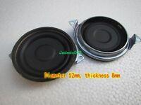 "2pcs 2""inch 52mm Bass radiator Passive speaker Vibration plate DIY"