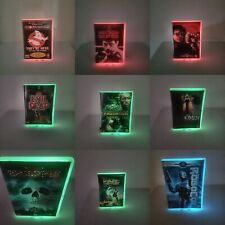 Neon Glow Dvds Horror Movies Multicolour Lighting