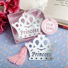 PRINCESS BOOKMARK Metal Book Mark Read Frozen Girls Pink Birthday Party Gift