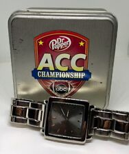 2011 CLEMSON TIGERS FOOTBALL ACC CHAMPIONSHIP WATCH NOT RING PLAYER FOSSIL