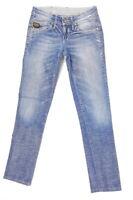 G-Star Jeans Midge Custom Damen W26 L32 Blau Tapered Stretch