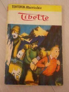 TINTIN - Tintin In Tibet 1973 TURKISH MEGA RARE TURKEY ALFA