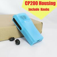Replacement Repair Front Housing Case Kit For Motorola CP200 radio BLUE