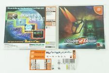 Border Down DC G.Rev Sega Dreamcast Spine From Japan