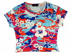 Girls' Cropped T-Shirts & Tops 2-16 Years