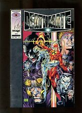 Deathmate Prologue (#1) NM+ Silver Foil Cover, Lee, Smith, Signed by Bob Layton