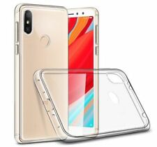 For Xiaomi Redmi S2 Case Clear Gel Cover & Glass Screen Protector