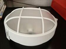 Aplique/plafon Sintético para exterior color blanco