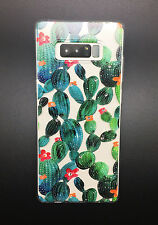 Crystals Case - Cactus Series Soft Slim Protective Cover for Samsung Note 8