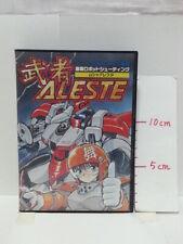 Musya ALESTE Mega Drive Shooting Game Working VG