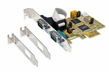 EXSYS ex-44062 - PCI-Express Mapa 2x Serial rs-232, systembase CHIPS