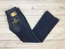 Diesel Industry Women's Blue RYOTH Bootcut Fit Denim Jeans W28 L32