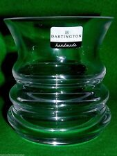 Dartington Crystal 'Wibble Votive' Candle Holder or Vase Signed & Labelled