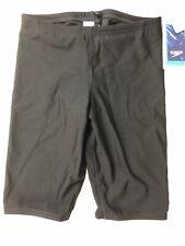 Speedo Boys' Jammer Swimsuit - Endurance+ Polyester Solid Speedo Black 26