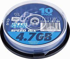 10 Platinum DVD+R 4,7 GB 4,7Gb 120Min 16x 10er Spindel