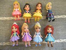 Disney Princess Toddler mini doll figure toy bundle playset Merida Elsa Ariel