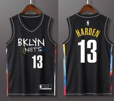James Harden Brooklyn Nets 2021 City Edition NBA Jersey Basketball Trikot