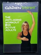 The Anti-Aging Workout For Active Adults DVD Golden Barre Leslee Bender +Tricia