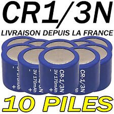 10 PILES ACCUS BOUTON CR1/3N 170mAh LITHIUM 3V 2L76 BATTERIE BATTERY