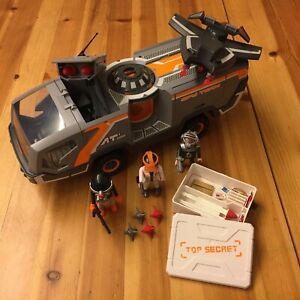 Playmobil 5286 ★ Top Agents Spy Team Commander Truck ★
