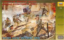 KIT ZVEZDA 1:35 SOLDATINI MARINAI  SOVIET NAVAL INFANTRY 1941 -1945     ART 3520