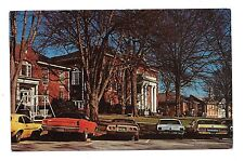 (E) KA-9 1960's Old Cars Parked at Anderson College, Anderson S.C.