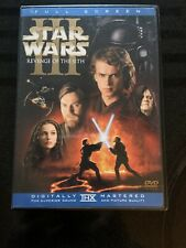 Star Wars Revenge Of The Sith Pg 13 Rated Dvds For Sale In Stock Ebay